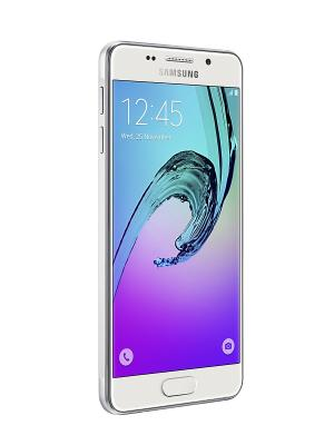 Смартфон Samsung Galaxy A3 Duos 16 ГБ белый. Цвет: белый