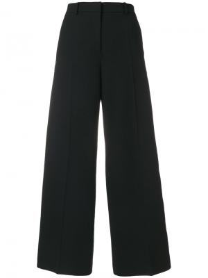 Широкие брюки Mantu. Цвет: чёрный
