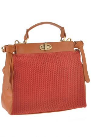 Сумка FLORENCE BAGS. Цвет: orange and red