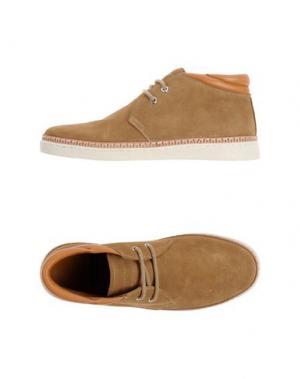 Полусапоги и высокие ботинки BEPOSITIVE. Цвет: песочный
