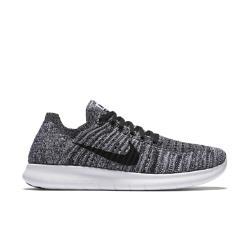 Женские беговые кроссовки  Free RN Flyknit Nike. Цвет: белый
