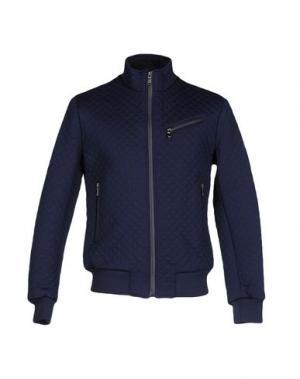Куртка YES ZEE BY ESSENZA. Цвет: темно-синий