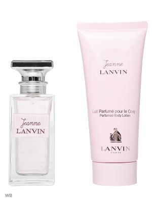 Парфюмерный набор LANVIN. Цвет: прозрачный
