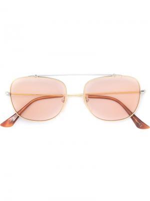 Солнцезащитные очки Primo Pink Retrosuperfuture. Цвет: металлический