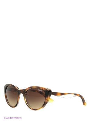Очки солнцезащитные 0VO2963S-191613 Vogue. Цвет: коричневый