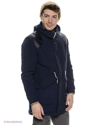 Куртка Wesc. Цвет: темно-синий