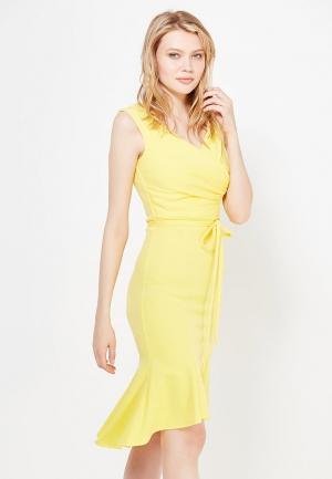 Платье City Goddess. Цвет: желтый