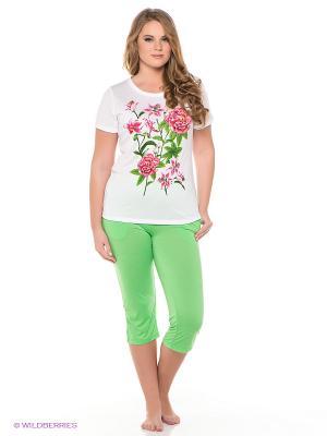 Пижама Vis-a-vis. Цвет: зеленый, белый
