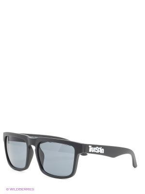 Солнцезащитные очки True Spin. Цвет: черный, серый