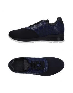 Низкие кеды и кроссовки JANET SPORT. Цвет: синий