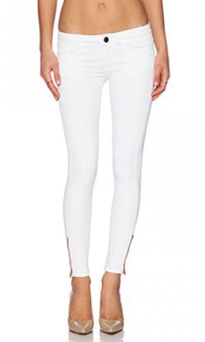 Узкие джинсы Etienne Marcel. Цвет: белый