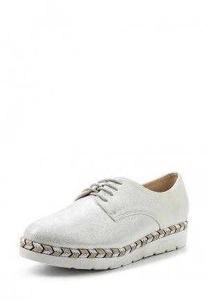 Ботинки Clowse. Цвет: серебряный
