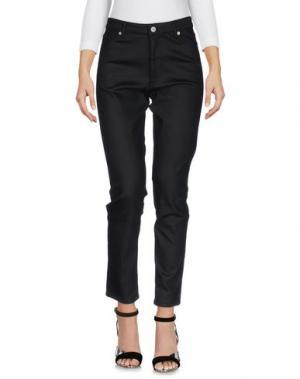 Джинсовые брюки MAISON KITSUNÉ. Цвет: черный