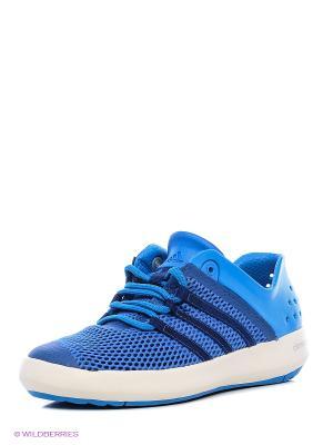 Обувь Для Водных Видов Спорта Взр. Climacool Boat Pure Adidas. Цвет: синий