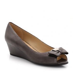Туфли из кожи GEOX. Цвет: розовый