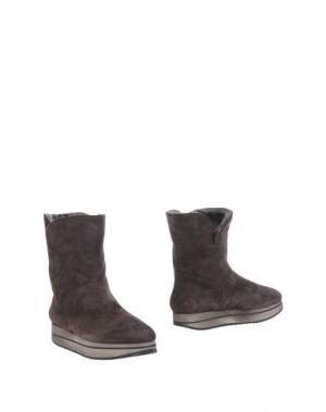 Полусапоги и высокие ботинки D'ACQUASPARTA. Цвет: темно-коричневый