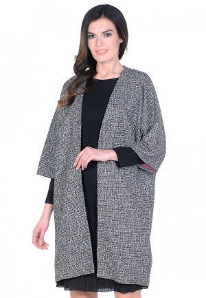 Пальто IMAGO. Цвет: серый