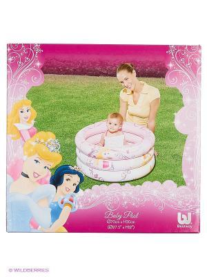 Надувной бассейн Принцессы Диснея Bestway. Цвет: бледно-розовый