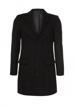 Пальто Piazza Italia. Цвет: черный