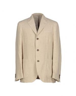 Пиджак ALAIN FRACASSÍ. Цвет: бежевый