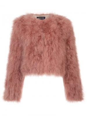Укороченный пиджак Vanessa Seward. Цвет: розовый и фиолетовый