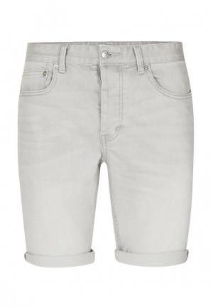 Шорты джинсовые Topman. Цвет: серый