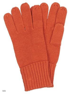 Перчатки Pur. Цвет: терракотовый