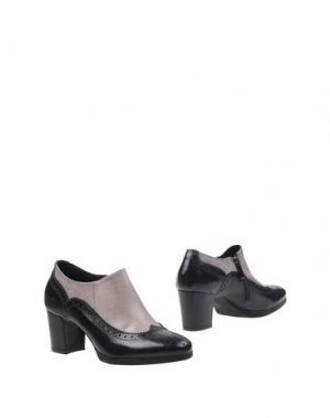 Ботинки ANTICA CUOIERIA. Цвет: черный