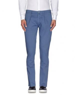 Повседневные брюки BARBATI. Цвет: грифельно-синий