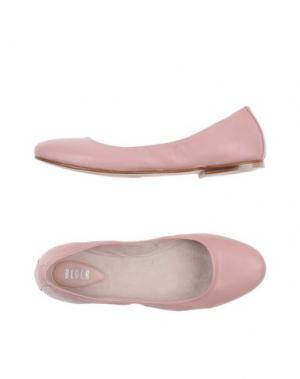Балетки BLOCH. Цвет: розовый