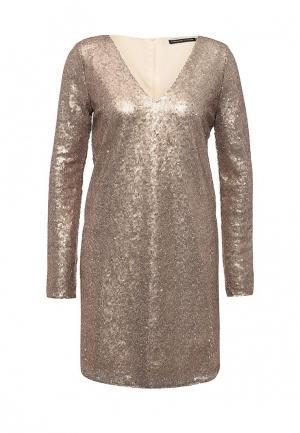 Платье Concept Club. Цвет: золотой