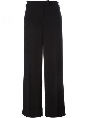 Широкие брюки Salvatore Ferragamo. Цвет: чёрный
