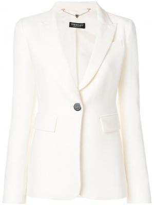 Classic blazer Twin-Set. Цвет: белый