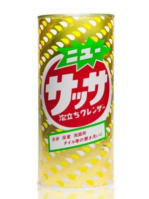 Порошок чистящий экспресс действия KANEYO Sassa Cleanser для кухни и ванной комнаты 400 г. Цвет: желтый