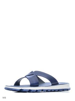 Пантолеты El Tempo. Цвет: синий, белый