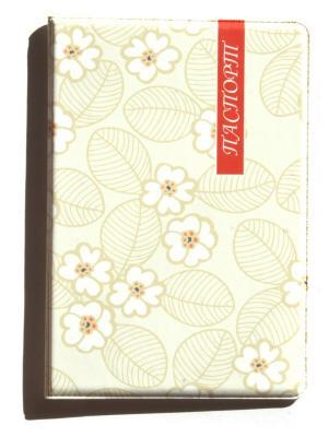 Обложка для паспорта Lola. Цвет: светло-коричневый, оранжевый