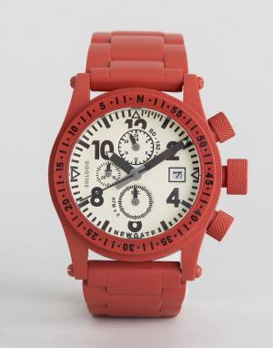 Newgate Часы Bulldog. Цвет: красный
