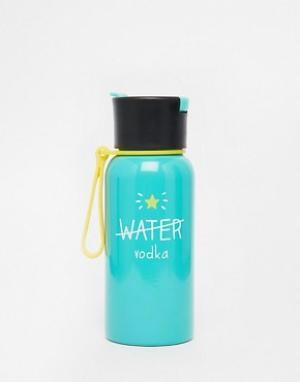 Happy Jackson Бутылка для воды Water Vodka. Цвет: зеленый