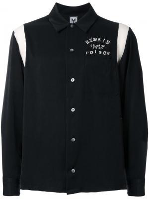 Рубашка с вышивкой Myne. Цвет: чёрный