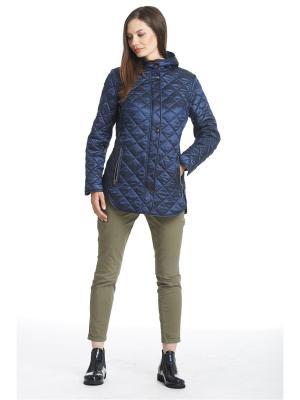 Куртка Пальмира Notte Bianca. Цвет: темно-синий