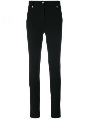 Облегающие брюки Givenchy. Цвет: чёрный
