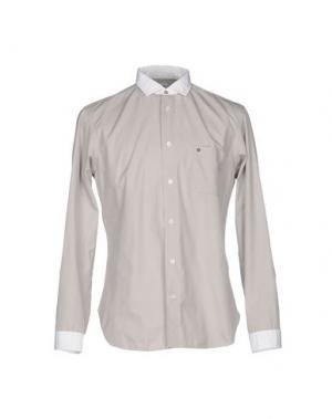 Pубашка DANOLIS. Цвет: серый