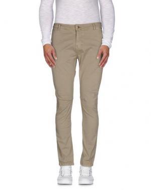 Повседневные брюки TED SCARF. Цвет: хаки