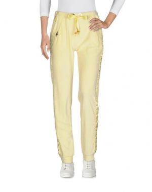 Повседневные брюки EAN 13. Цвет: желтый