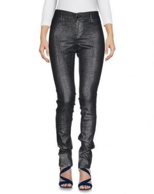Джинсовые брюки S.O.S by ORZA STUDIO. Цвет: темно-синий