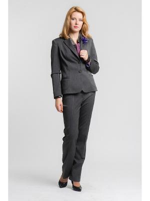 Пиджак ESSA. Цвет: серый