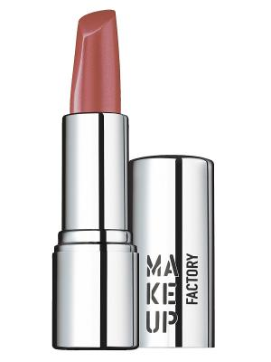 Помада, тон 201 Медно-розовый Make up factory. Цвет: розовый