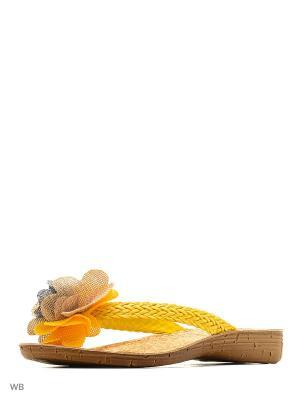 Пантолеты Inblu. Цвет: желтый