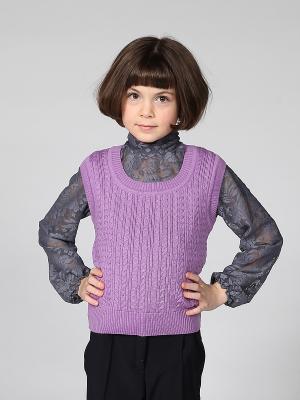 Жилет 80 LVL. Цвет: фиолетовый