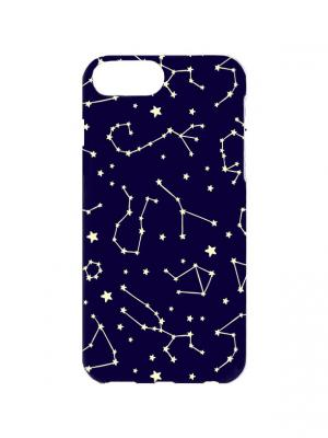 Чехол для iPhone 7Plus Зодиаки Арт. 7Plus-191 Chocopony. Цвет: синий, белый